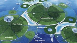 Enterra Insights Floating Cities - Physalia-a-huge-floating-garden-by-vincent-callebaut