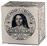 Madam Walker shampoo