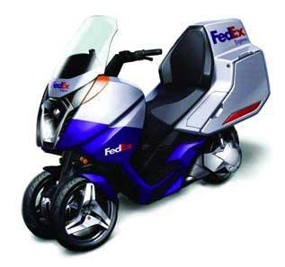 Vectrix Maxi-Scooter
