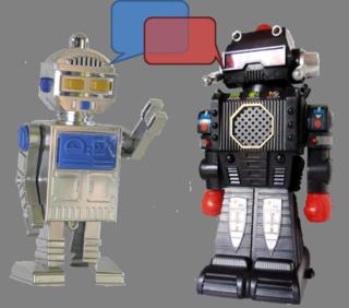 Robots talking