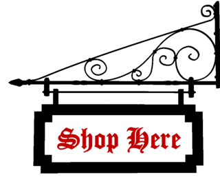 Shop sign shop here