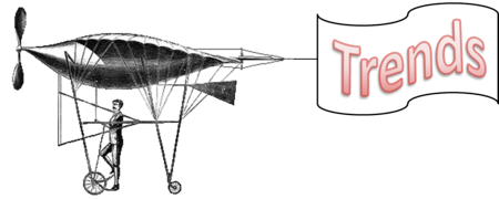 Old manpowered aircraft design  with banner clear