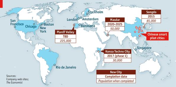 Smart Cities The Economist